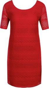 Czerwona sukienka Armani Jeans mini