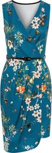 Sukienka bonprix BODYFLIRT boutique bez rękawów w kształcie litery v