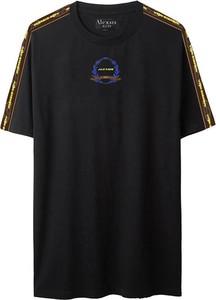 Czarny t-shirt Alexis