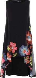 70b608e03c Sukienka Desigual bez rękawów w stylu casual midi
