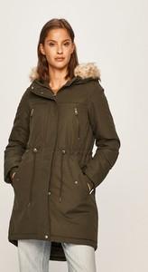 Zielona kurtka Vero Moda z tkaniny