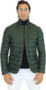 Zielona kurtka Hetregó w stylu casual