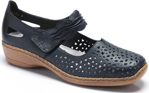 Sandały Rieker na obcasie w stylu casual