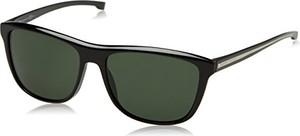 Zielone okulary damskie hugo boss