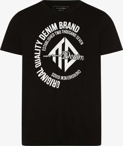 Czarny t-shirt Tom Tailor Denim