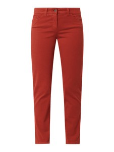 Pomarańczowe jeansy Gerry Weber w street stylu z bawełny