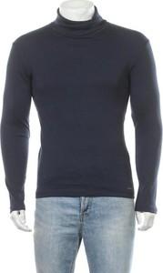 Niebieska koszulka z długim rękawem Esprit z długim rękawem w stylu casual