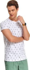 T-shirt Top Secret w młodzieżowym stylu