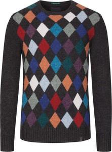 Sweter Colours & Sons z wełny w młodzieżowym stylu