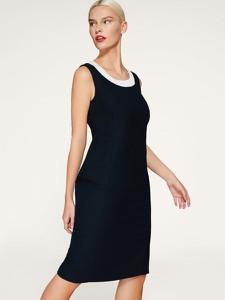 Sukienka Persona by Marina Rinaldi z okrągłym dekoltem prosta