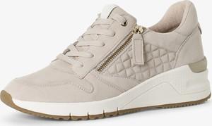 Buty sportowe Tamaris sznurowane z płaską podeszwą