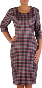 Sukienka POLSKA mini z długim rękawem