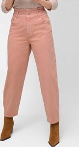 Różowe jeansy ORSAY