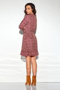 Sukienka N/A z żabotem mini