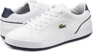 Buty sportowe Lacoste w sportowym stylu ze skóry