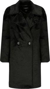 Czarny płaszcz DKNY