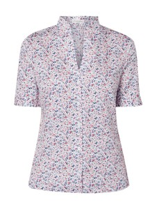 Różowa bluzka Christian Berg Women z bawełny