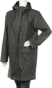 Zielona kurtka mbyM długa w stylu casual