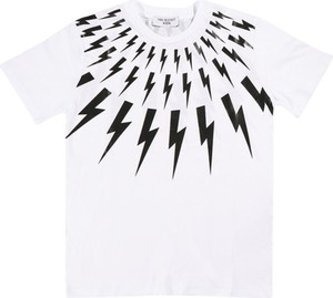 Koszulka dziecięca Neil Barrett z krótkim rękawem dla chłopców