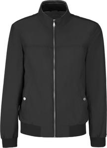 Czarna kurtka Geox w stylu casual