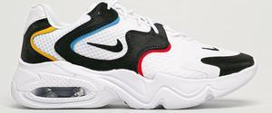 Buty sportowe Nike Sportswear sznurowane z płaską podeszwą ze skóry ekologicznej