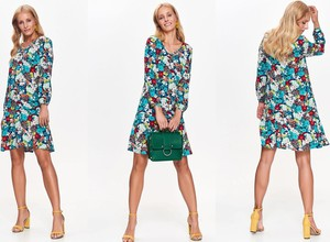 Sukienka Top Secret w stylu casual z długim rękawem mini