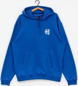 Niebieska bluza ETNIES z bawełny