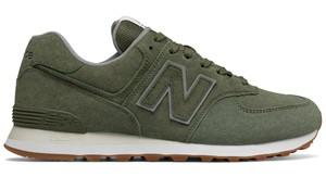 Zielone buty sportowe New Balance