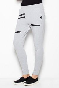 Spodnie sportowe Venaton w młodzieżowym stylu z bawełny