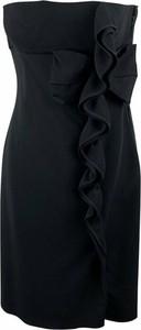 Czarna sukienka Valentino z jedwabiu mini