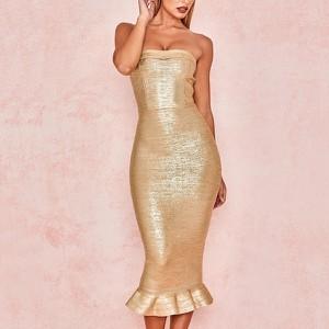 Sukienka Billion Ladies bez rękawów midi dopasowana