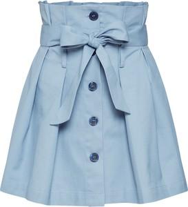 Niebieska spódnica Glamorous mini z bawełny