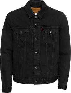 Czarna kurtka Levis z jeansu