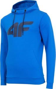 Niebieska bluza 4F z bawełny