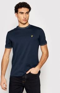 T-shirt Lyle & Scott w stylu casual z krótkim rękawem