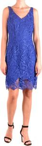 Niebieska sukienka Ralph Lauren mini