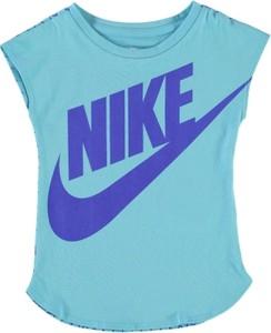 Błękitna koszulka Nike