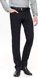 Brązowe spodnie Top Secret w stylu casual