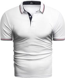 Koszulka polo Risardi z krótkim rękawem