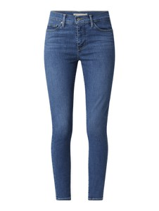 Niebieskie jeansy Levi's® 300 z bawełny w street stylu