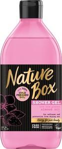 Nature Box Almond Oil, ochronny żel pod prysznic, 385 ml