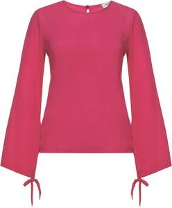 Czerwona bluzka Max & Co. z długim rękawem