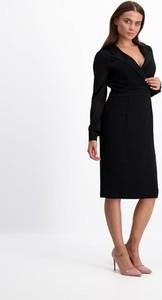 Czarna sukienka Lavard