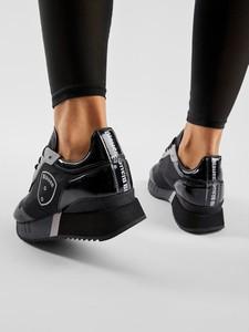 Czarne buty sportowe Blauer Usa