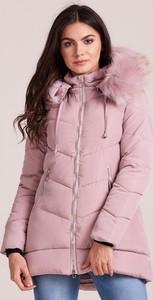 Różowa kurtka Factory Price krótka