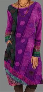 Fioletowa sukienka Cikelly mini