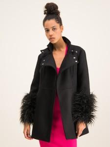 Czarny płaszcz Armani Exchange w stylu casual