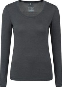 Bluzka Mountain Warehouse z długim rękawem z tkaniny w stylu casual