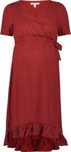 Esprit Sukienka w kolorze czerwonym do karmienia