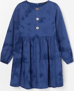 Niebieska sukienka dziewczęca Reserved